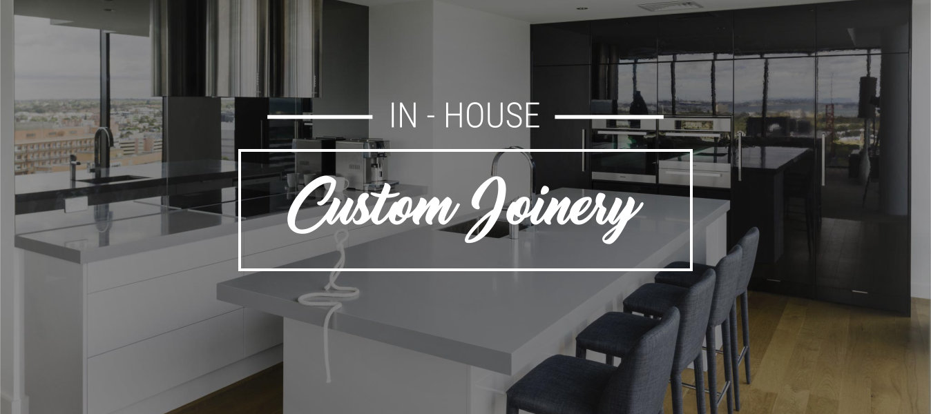 Custom Joinery Kitchen Banner